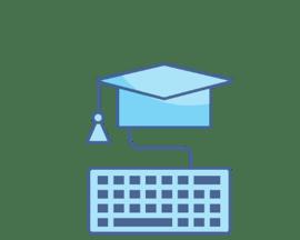 E-Learning-Plattformen - Illustration