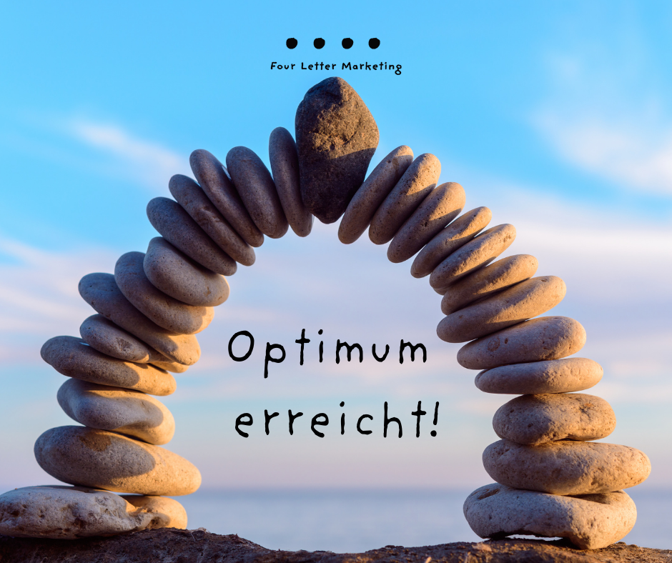 Optimierung erreichen