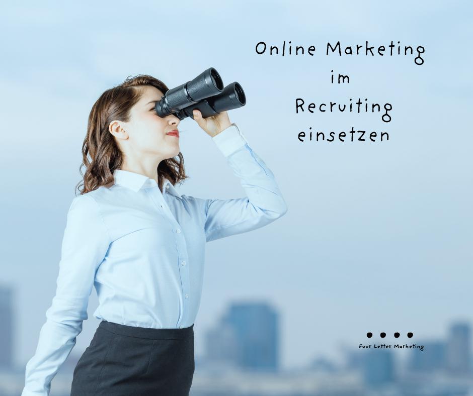 online marketing im recruiting