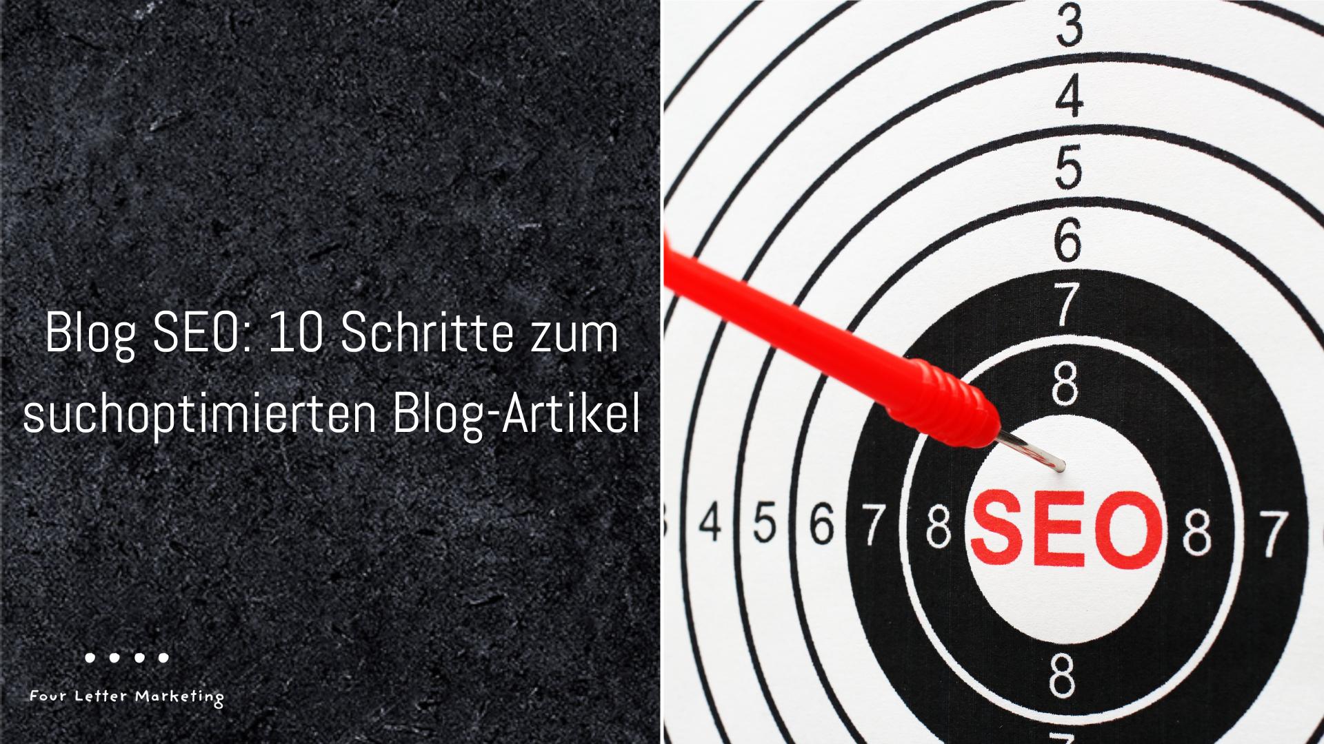 Blog SEO 10 Schritte
