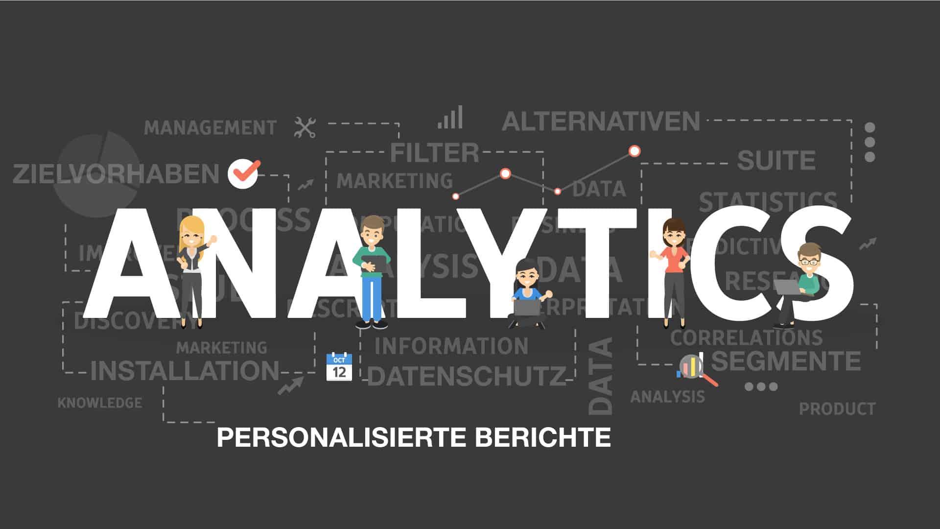 Personalisierte Berichte Google Analytics