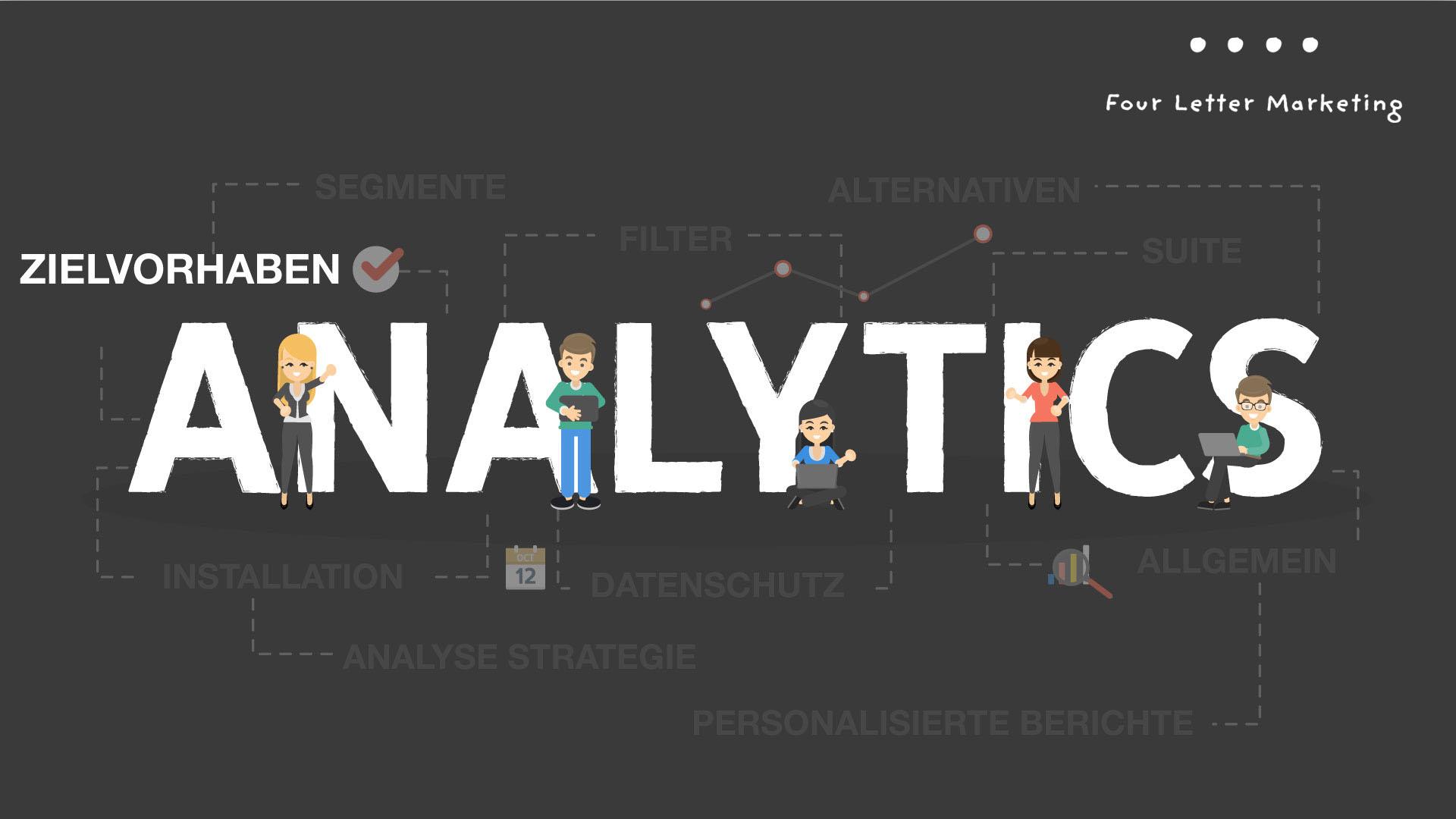 Google Analytics Zielvorhaben - So erhöhen Sie Ihre Conversionrate